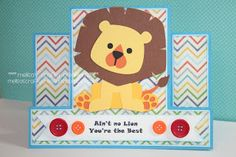 Melisas Crafty Creations~~Center Step Card Cutting files and Safari Love cutting files