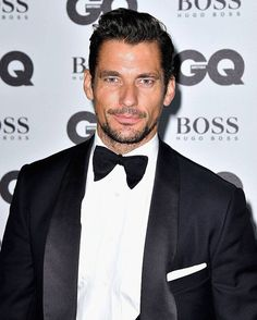 HQ September 6th, 2016 - David Gandy attends the GQ Awards 'Men of The Year'…