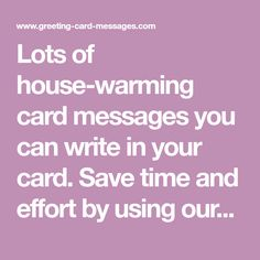 Lots of teacher thank you card messages you can write in your card lots of house warming card messages you can write in your card save time m4hsunfo