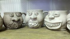 Here are some of Molly Poore Pots and here is a links;   http://poorepots.wordpress.com/