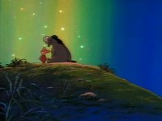 """""""Donkey for a day""""...my fave """"Winnie the pooh"""" episode growing up....tears."""