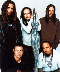 Korn - saw them with my son, Ryan. AMAZING live, and Jonathan Davis on bagpipes - I just can't even