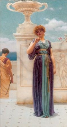 The Engagement Ring - John William Godward