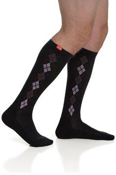 c4b173500ed Men s Straight-up Argyle  Black   Brick (Wool)