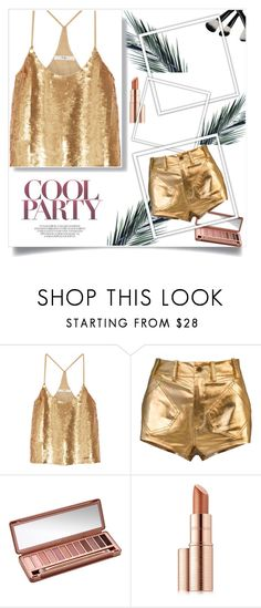 """""""cool party"""" by folloui on Polyvore featuring TIBI, Urban Decay and Estée Lauder"""