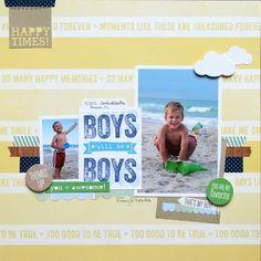 Boys will be Boys - Scrapbook.com