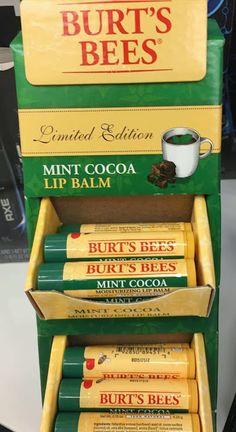 Spotted: Burt's Bees Holiday 2015 Limited Edition Mint Cocoa Lip Balm