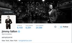 What did Jimmy Fallon do Wrong in His Twitter Bio? - Cotton Belt Press