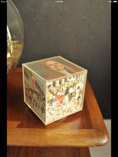 Those plastic photo cubes... I bet 99% of all households had at least one of them.