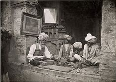 Maynard Owen Williams, Wood Carving, Amritsar, India, 1921. From marionblank & findout. """"