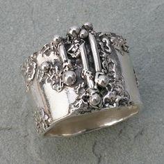 Hattie Sanderson Silver #ring #jewellery