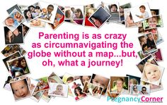 Parenting is as crazy as circumnavigating the globe without a map...but, oh, what a journey!