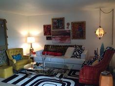 modern boho college apartment | miriam hunt