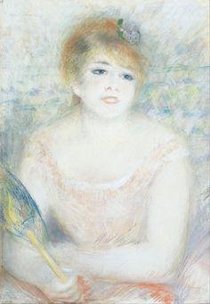Pierre Auguste Renoir Poster Mlle Jeanne Samary                                                                                                                                                                                 Más