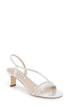 Gerri' Embellished Slingback Sandal