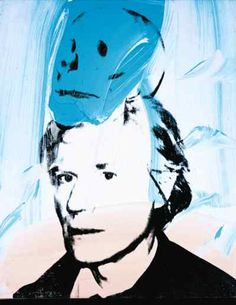 Andy Warhol, Self-Portrait with Skull, 1978