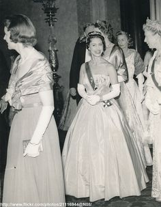Princess Margaret at reception. Love this picture for Princess Margaret.