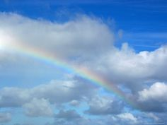 Somewhere over the...  Rainbow in a Cloudy Sky, Hawaii  Photographic Print  by Stacy Gold  24x18