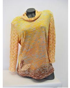 Tunika+Tunika+je+ušita+z+bavlněných+úpletů+a+viskózy+s+elastanem.+Vše+je+ručně+barveno+a+batikováno.Velikost+44-46. Men Sweater, Pullover, Sweaters, Fashion, Tunic, Moda, Fashion Styles, Men's Knits, Sweater
