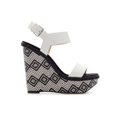 Image 1 of COMBINATION WEDGE from Zara