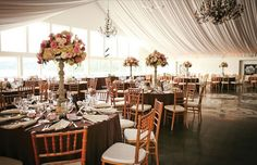 Moonstone manor.  Reception Tent, can't wait for our turn!