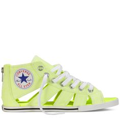 Converse - Chuck Taylor Gladiator - Low - Neon Yellow.....like woah