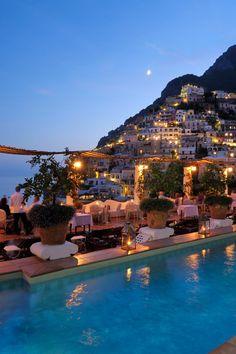 The Amalfi Coast by Night, Italy