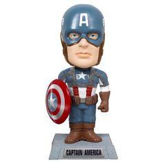 Amazon.com: Funko Captain America Movie Wacky Wobbler: Toys & Games