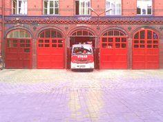 Remiza strażacka.