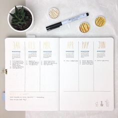Minimal Bullet Journal Layout