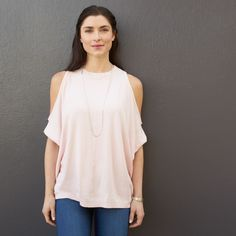 Cute date night shirt - not crazy about color