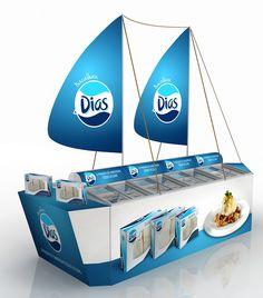 O que acham deste barco da Alascod Comércio de Peixe, SA? Muitos parabéns à Brandkey - Marketing Activation pela sua concepção e, assim, levar para casa o Índio de Bronze na categoria de topos alimentares.