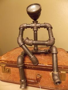 Lamps, Steampunk lamp and eBay on Pinterest