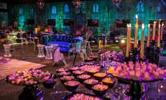 Mesa de comida da Festa Magia