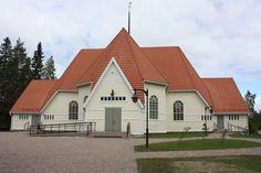 Haukiputaan kirkko Granit-savikattotiilillä