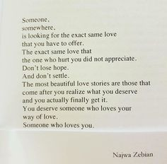 Everything is the same even if it's different. Najwa Zebian