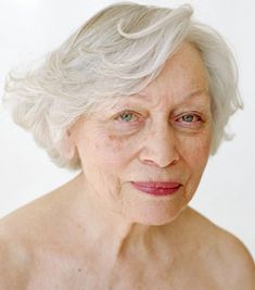 "Image from ""Infinite Variety,"" a celebration of the beauty of the female face — the aging female face, by Harriet Walter."
