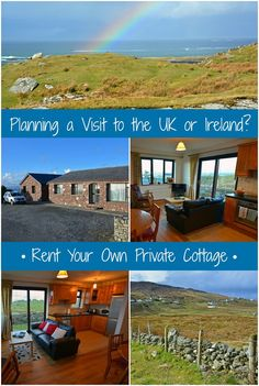 Live like a local by renting a private cottage during your next visit to the British Isles (UK & Ireland)! Best Places To Travel, New Travel, Places To Go, Travel Tips, Travel Stuff, Travel Europe, Travel Guides, Scotland Travel, Ireland Travel