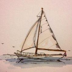 #sailboat on the #sea