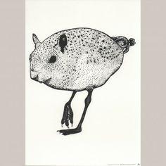 Mousurd - Addison Karl (schwarz - limitierte Auflage von handgemachten Siebdrucken)