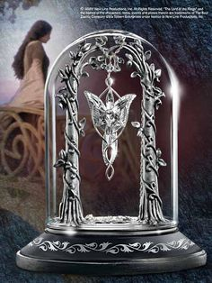 Herr der Ringe Schmuckvitrine für Arwens Abendstern - Lord of the rings  Der Herr der Ringe - Arwen - Hadesflamme - Merchandise - Onlineshop für alles was das (Fan) Herz begehrt!