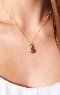 Ki.ele Jewelry ~ Classic Hawaiian Pineapple Necklace ~ Show Me Your Mumu
