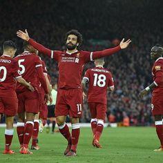 Salah Liverpool, Liverpool Fc, Mo Salah, Mohamed Salah, Football, Number, Red, Soccer, Futbol