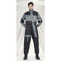 Men's 1 Piece Rain Suit With Reflectors