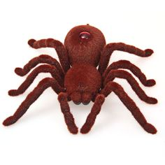 Brand High Quality 2CH Infrared RC Realistic Spider Prank Remote Control Toy for Halloween Gift Decoration Party Stage Props