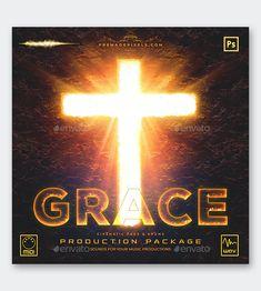 Grace Album Cover Template PSD