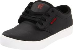Etnies Jameson 2 Eco Skate Shoe (Toddler/Little Kid/Big Kid) Etnies. $22.99. STI Foam cushioning footbed. Rubber outsole. Canvas. Faux vulcanized cupsole construction. EVA midsole. Rubber sole. Padded tongue and collar