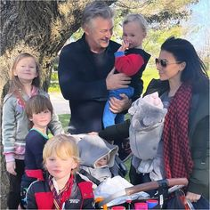Hilaria Baldwin Enjoys Mother's Day with Her 6 Kids, Tells Husband Alec 'Thanks for Making Me a Mama' Emotional Messages, New Instagram, Instagram Posts, Alec Baldwin, First Mothers Day, Candid, Sons, Couple Photos