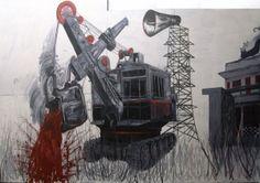 """Sun Xun: """"Coalspell"""" 2008."""