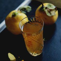 Aromatyczna pigwówka. Jesienna nalewka z dodatkiem aromatycznych przypraw.